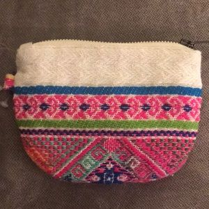 Free People Aztec Pouch Bag, Wallet NWOT